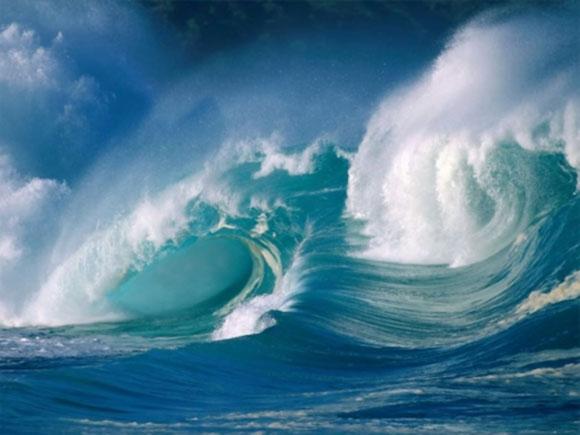 mare con onde alte