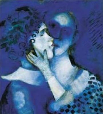 Marc Chagall Gli Amanti Azzurri 33012