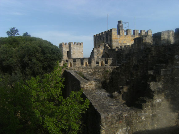 Castelo-de-Sao-Jorge-lisbona
