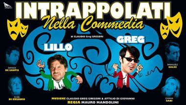 lillo e greg intrappolati nella commedia