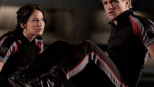 Hunger Games Peeta and Katniss