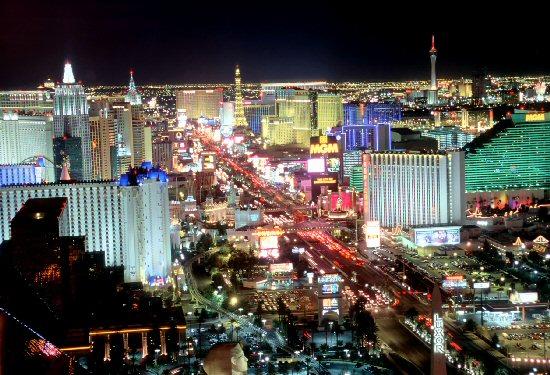 Las-Vegas-at-night