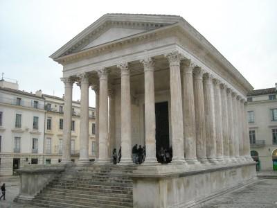 Nimes, Tempio Romano