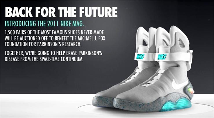 nike ritorno al futuro 2 prezzo