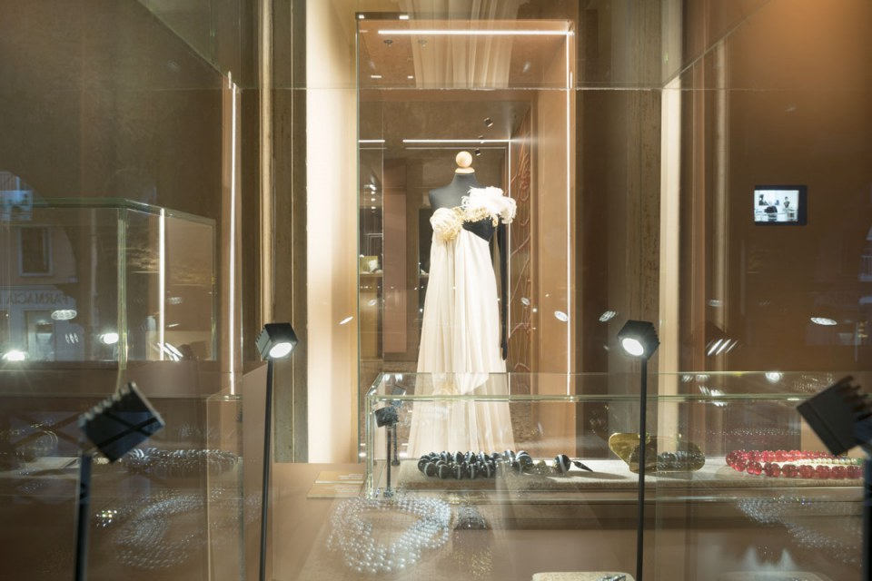 Museo del gioiello: sala della moda