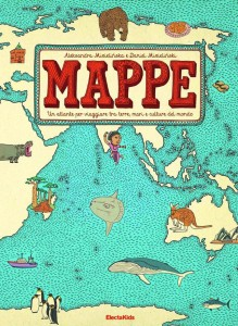 libro illustrato mappe