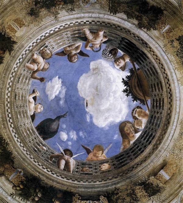 Camera degli Sposi a Mantova: oculo (Foto: Wikimedia)