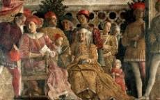 Camera degli Sposi a Mantova, la corte (Foto Wikimedia)