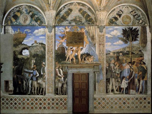 Camera degli Sposi a Mantova: l'Incontro (Foto: Wikimedia)