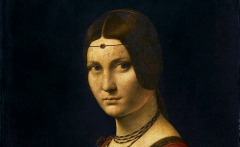 Leonardo a Milano: La Belle Ferroniére (Foto: Wikipedia)