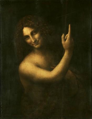 Leonardo a Milano: San Giovanni Battista (Foto: Wikipedia)