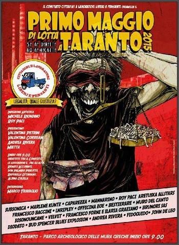 concerto del primo maggio 2015 Taranto