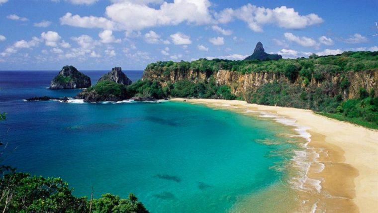 Baia do Sanchoin Brasile
