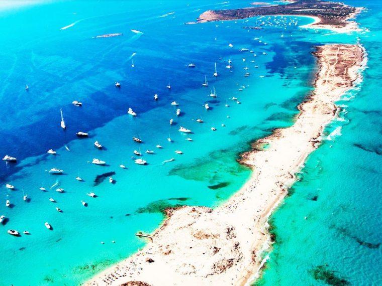 Playa De Ses Llletes A Formentera