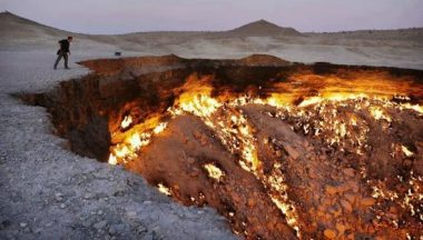 door to hell gas deposit