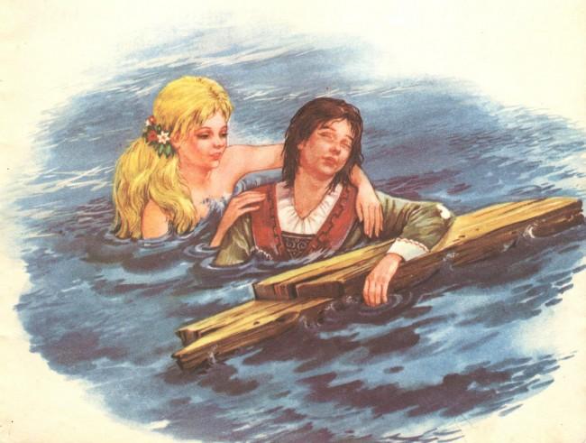 la sirenetta Hans Christian Andersen