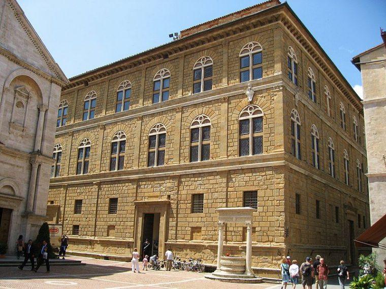 Palazzo Piccolomini Pienza Toscana