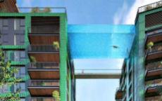 piscina sospesa