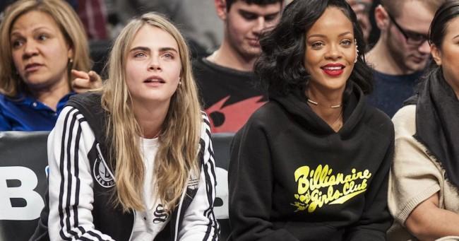 Rihanna e Cara Delevingne