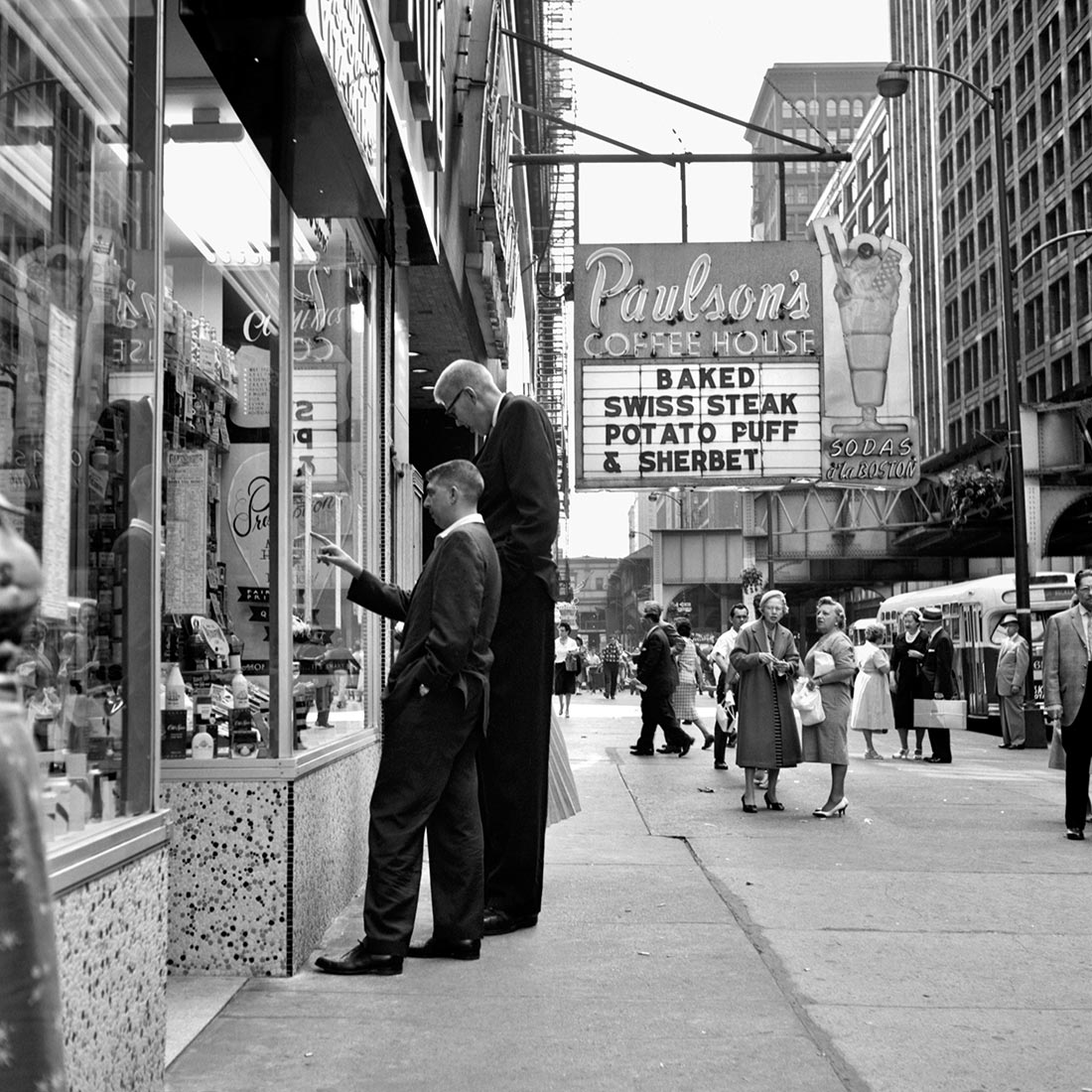 August 1960. Chicago, IL