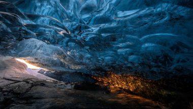 grotta di ghiaccio