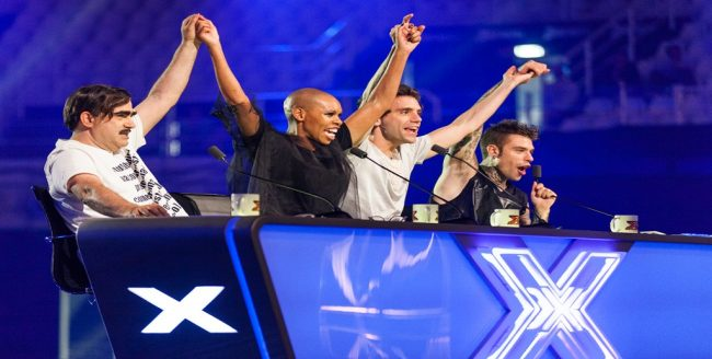 nuova giuria di X Factor 10