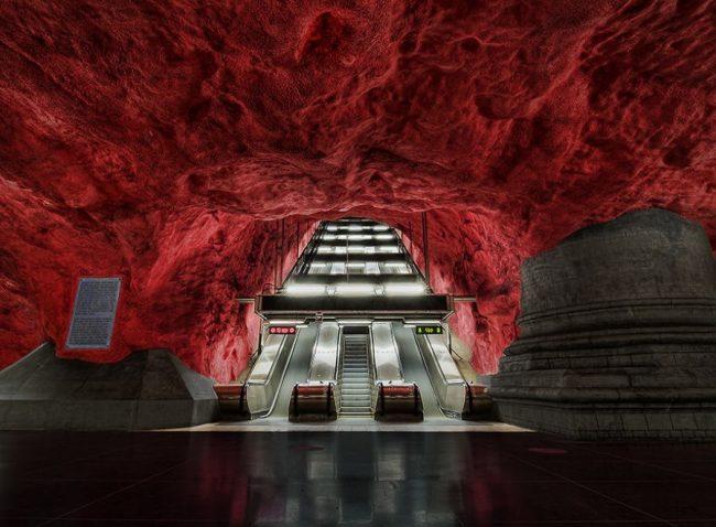 Metro ad arte. Stoccolma