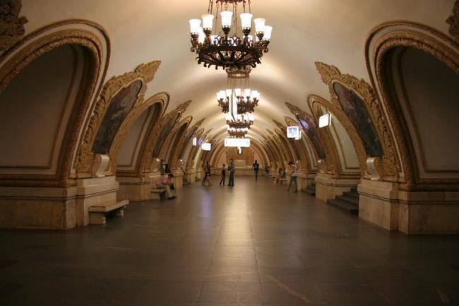 Metro ad arte. Mosca