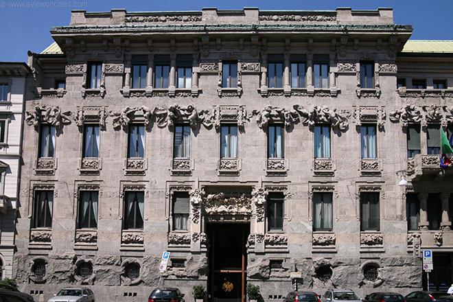 Liberty a Milano. Palazzo Castiglioni