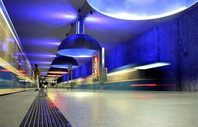 Metro ad arte. Monaco