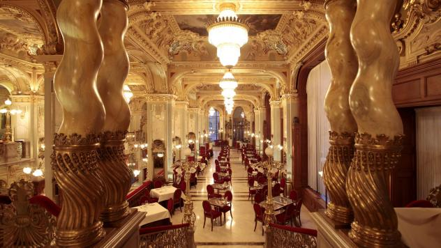 Budapest. Caffetterie e ristoranti artistici