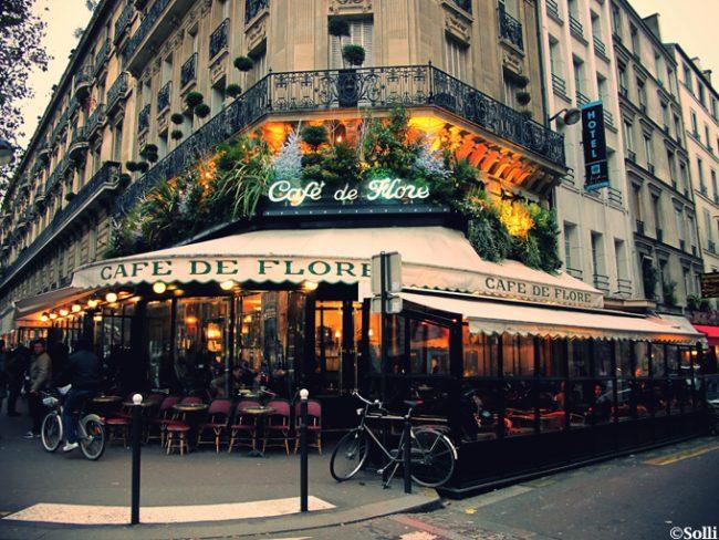 Parigi. Caffetterie e ristoranti artistici