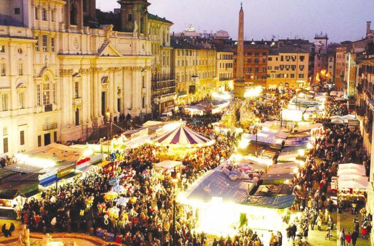 Mercatino di Natale Roma