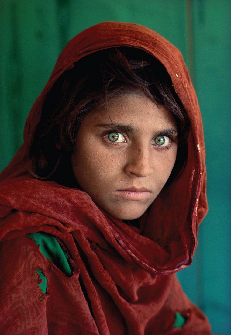 Steve McCurry Ragazza Afgana fotografie famose