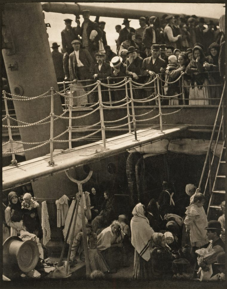 Fotografie Famose The Steerage