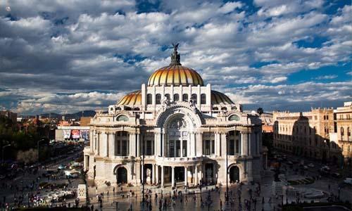 palacio de bellas artes messico
