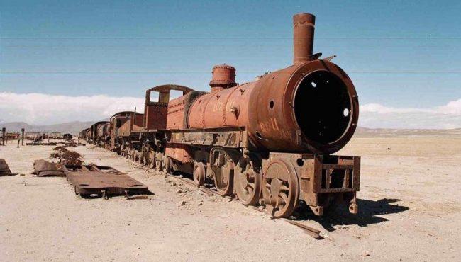 Musei del treno-cimitero Bolivia