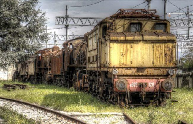 Musei del treno-cimitero Pistoia